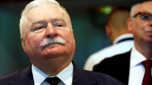Poland's Walesa urges Catholic church action on abuse after his priest accused