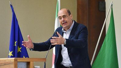 Zingaretti, M5s e Lega poggiano su fake