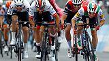 Tour d'Italie: Viviani déclassé, Gaviria vainqueur de la 3e étape