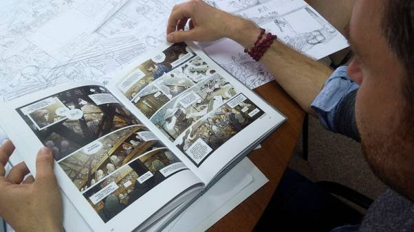 Polish graphic novel tells Holocaust survivors' tales