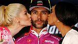 """Tour d'Italie: """"je suis deuxième"""", estime Gaviria"""