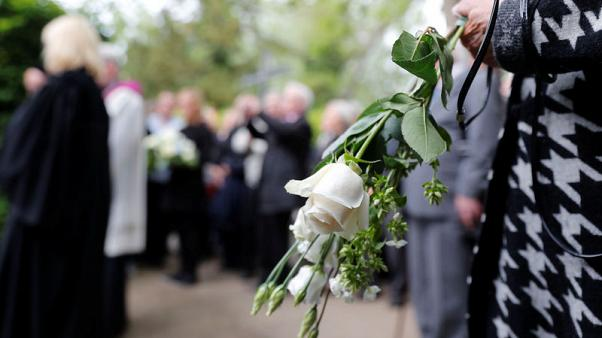 Germany buries remains of Nazi-era prisoners used for research