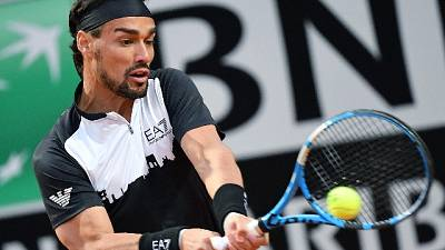 Open Italia: Fognini ok, battuto Tsonga