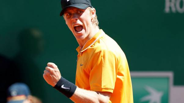 Shapovalov earns Rome meeting with Djokovic