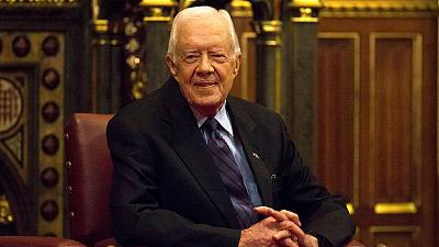 Ex-president Jimmy Carter breaks hip ahead of turkey hunt