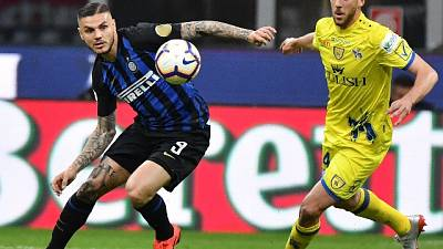 2-0 al Chievo, per Inter punti Champions