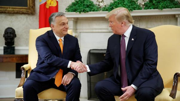 'Like me, a little controversial' - Trump praises Hungary's anti-immigration PM Orban