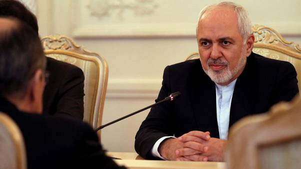 Iran foreign minister in India for talks after U.S. sanctions