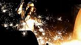 Euro zone industry output dragged down by France, Italy