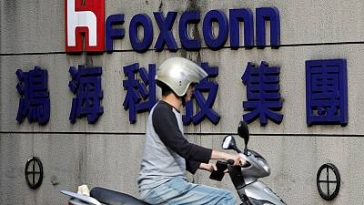 Foxconn posts fall in first-quarter profit, lagging estimates