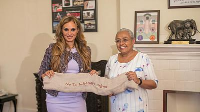 Merck Foundation met the First Lady of Kenya to underscore their commitment to build healthcare capacity in the country