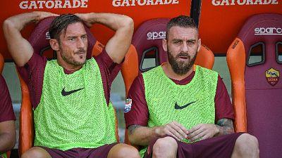 "De Rossi,""io no dirigente,potere a Totti"