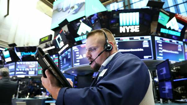 Record level of funds hedge against stocks fall - BAML survey