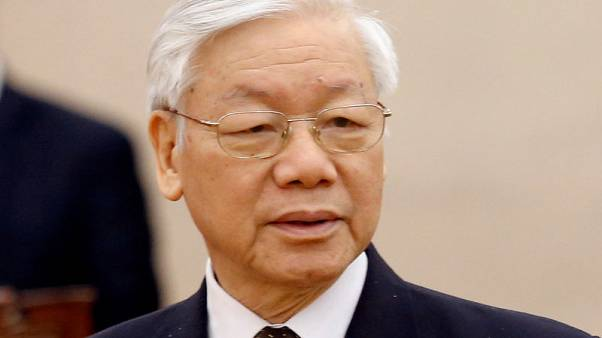 Vietnam leader Nguyen Phu Trong reappears in state media after illness