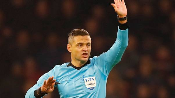 Slovenian Skomina to referee Champions League final