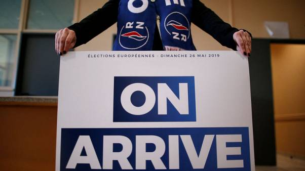 In France's Somme, far right stirs anti-EU feeling ahead of elections