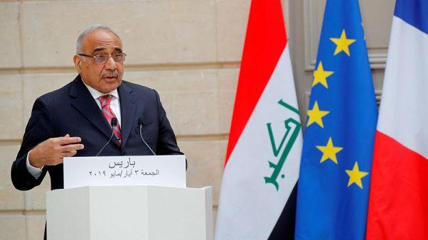 رئيس وزراء العراق: هناك مؤشرات من طهران وواشنطن على أن الأمور ستنتهي على خير