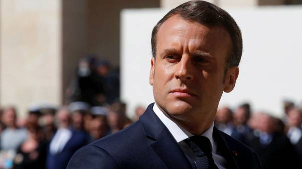 Macron wants to meet Libya's Haftar to push ceasefire - French foreign minister