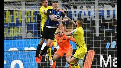 Relazione su cori in ritardo,Inter salva