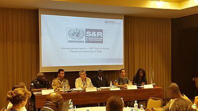 La MINUSMA rend compte à ses donateurs de l'utilisation du fonds fiduciaire pour la consolidation de la Paix au Mali