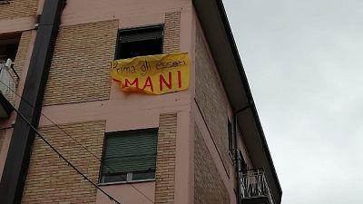Salvini a Campobasso, 200 striscioni