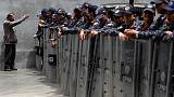 Venezuela security forces block opposition lawmakers from entering parliament