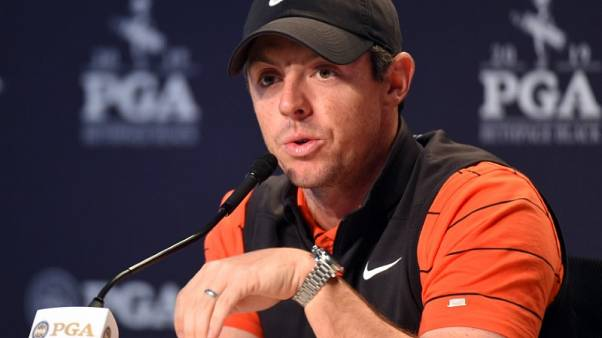 Golf - McIlroy chooses Ireland over Britain for Olympic golf