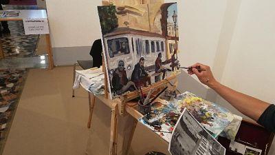 Roma, al via esame per pittori di strada