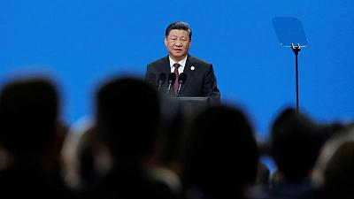 Amid trade war, China's Xi preaches openness, says no civilisation superior