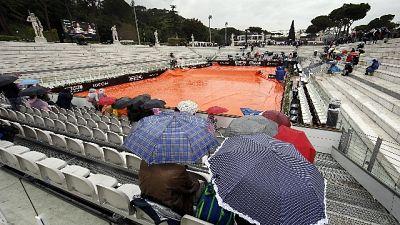 Open Italia: piove,inizio match rinviato
