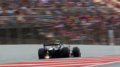 F1: test mattina a Magnussen