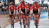 Tour d'Italie: Dumoulin continue malgré tout