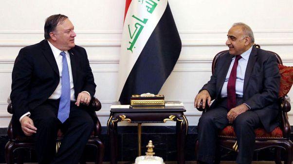 أمريكا تضغط على العراق لتحجيم جماعات مسلحة مدعومة من إيران