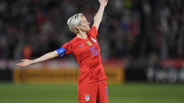 Wily Rapinoe ready to serve again as U.S. defend World Cup