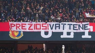 Genoa, assemblea tifosi su ingresso