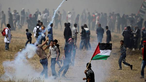 Nearly 50 Palestinians wounded in 'Catastrophe' anniversary protests on Gaza-Israel border