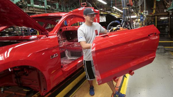 Weak U.S. retail sales, industrial output highlight slowing economy