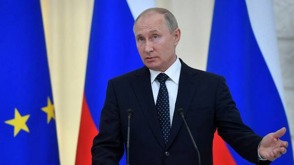 Russia's Putin says he may meet Trump next month at G20 in Japan
