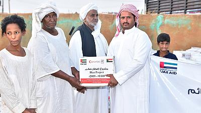 20,000 Sudanese benefited from UAE's assistance