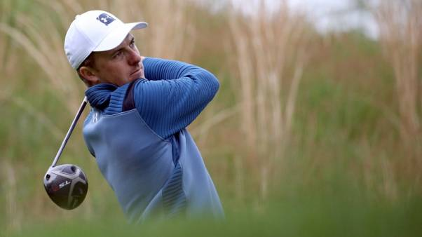 Spieth not distracted by career grand slam thoughts at PGA Championship