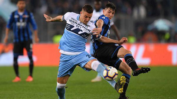 Lazio strike late to beat Atalanta in Coppa Italia final