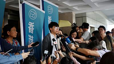 Hong Kong democracy leader Joshua Wong sent back to jail