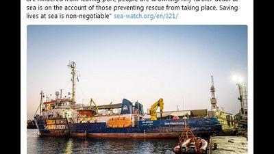 SeaWatch,da Libia ordine di allontanarci