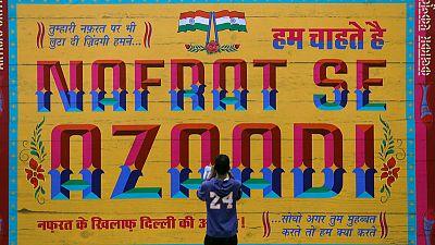 Under Modi, Hindu hardliners turn Indian theatre into a battleground