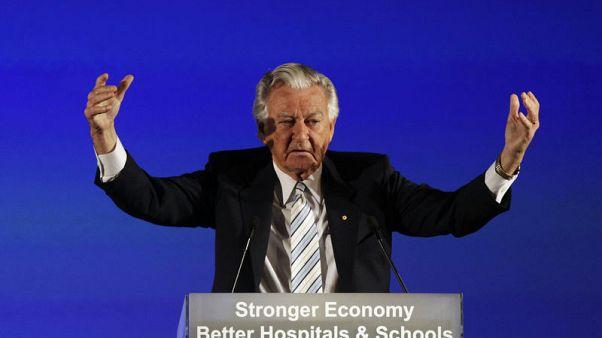 Australia's 'larrikin' former prime minister Bob Hawke dies at 89