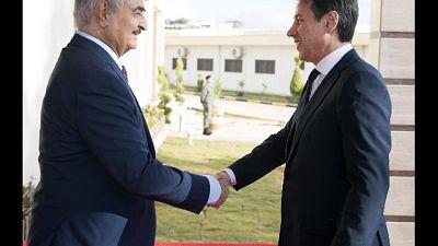 Conte, a Haftar ribadito via politica