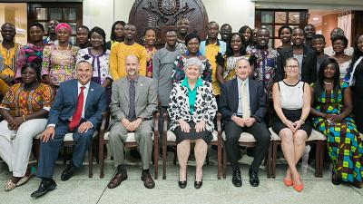 U.S. Ambassador Honors 2019 Mandela Washington Fellows