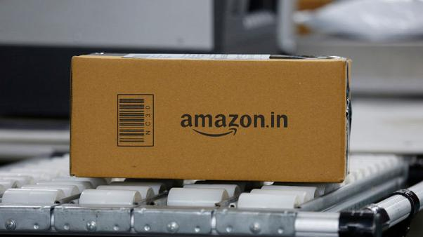 Amazon faces backlash in India for selling shoes, rugs with images of Hindu gods