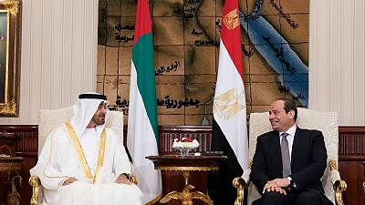 His Highness Sheikh Mohamed bin Zayed, Egyptian President review regional developments