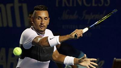 Kyrgios thrown out of Italian Open after on-court outburst